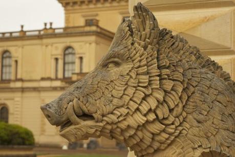Warthog - Entrace at Osborne House