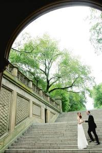 S&L central park bethesda terrace wedding
