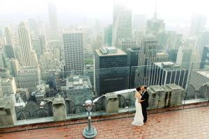 S&L top of rock central park NYC wedding 3