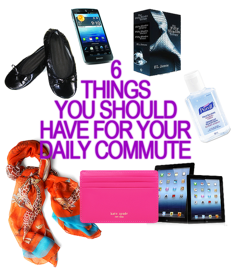 6 Things You Need For Your Daily Commute