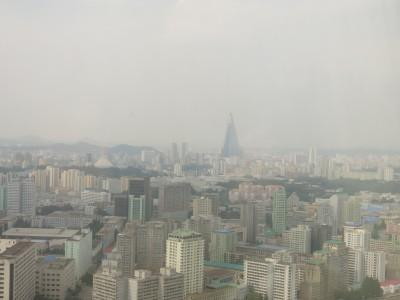 pyongyang city revolving restaurant