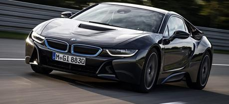 BMW i8 (Credit: BMW Group)