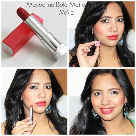 Maybelline Bold Matte Lipstick MAT5