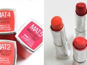 Review Swatches Maybelline Bold Matte Lipsticks (MAT2, MAT3, MAT4 MAT5)