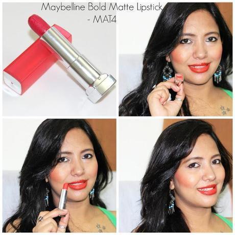 Maybelline Bold Matte Lipstick MAT4
