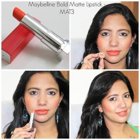Maybelline Bold Matte Lipsticks MAT3