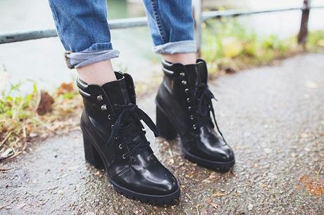 rainy day boots wellington boots material zara
