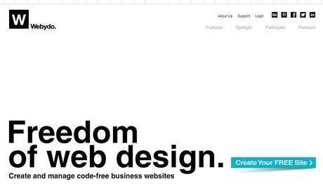 Webydo Online Website Builder