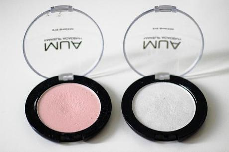 MUA MAKEUP ACADEMY EYESHADOW: SHADE 2 & 16