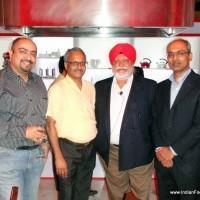 Pawan Soni, Chef Shaju Zacharia, Chef Manjit Gill