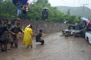 Hurricane Manuel in Mexico