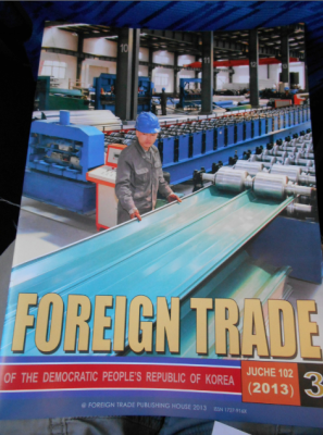 foreign trade magazine north korea