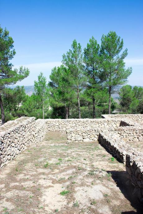 Houses of the Iberians in La Bastida in Moixent