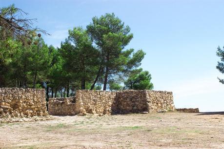 Walls of the Iberians of La Bastida in Moixent