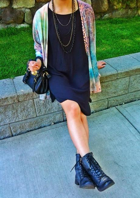 How to Wear A Black Tunic
