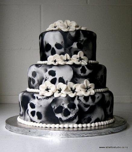 Halloween Cake Decorations Nz : Halloween Wedding Ideas: Scare Up Some Spooky Wedding Fun ...