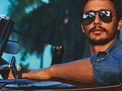 Gucci Black Bamboo Sunglasses