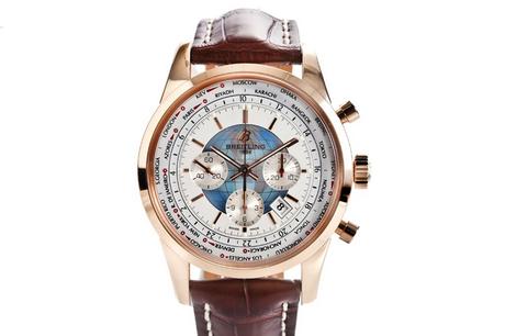 Breitling Transocean Chronograph Unitime Watch