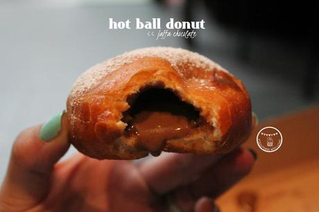 jaffa chocolate hot ball donut