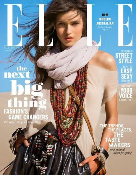 ELLE AUSTRALIA'S PREMIER COVER WITH GABBY WESTBROOK-PATRICK