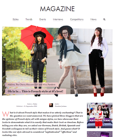 From blogging to writing for STYLIGHT Magazine