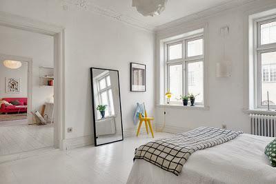 Scandinavian Home Styling - Black & White ♥