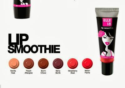 Elle 18 Lip Smoothie Shade Charts