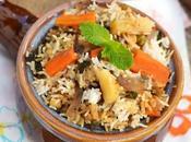 Biryani (Hyderabadi Vegetable Biryani)