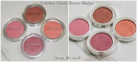 Review and Swatches | Colorbar Cheek Illusion Blush (Coral Craving, Everything's Rosy, Pink Punch,  Bronzing Blaze)
