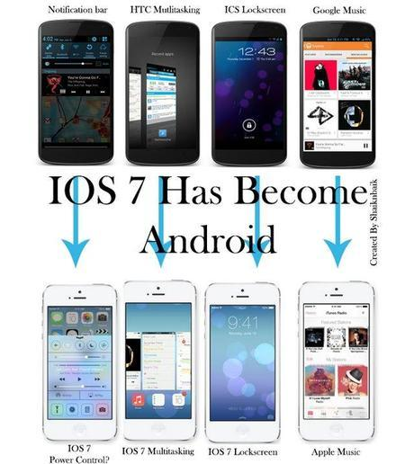 ios-7-vs-android