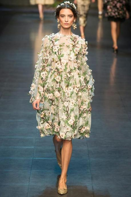 dolce_ss14 milan_pretty floral frock