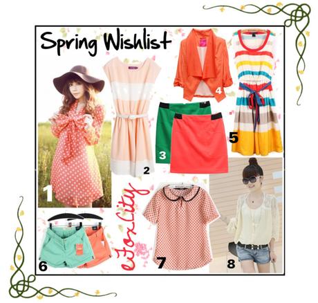 LANDING No29: Spring Wish List