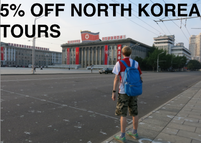 north korea tours 5% off with Don't Stop Living