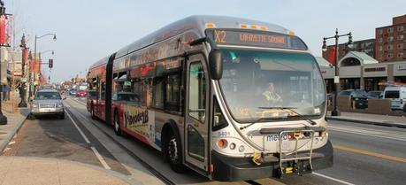 A Metro Bus in the Washington DC area. (Credit: Flickr @ Elvert Barnes http://www.flickr.com/photos/perspective/)