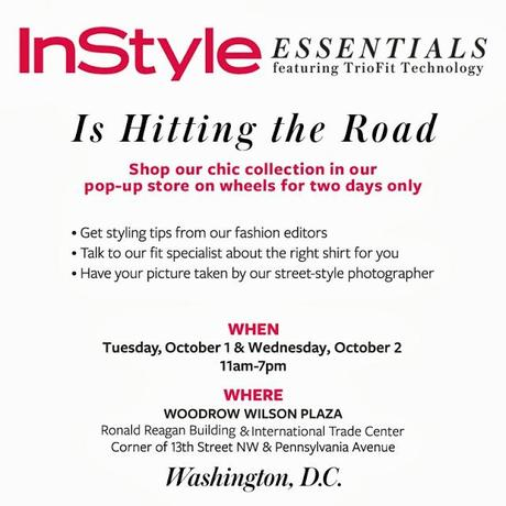 Instyle Essentials: DC Pop-up Shop for Custom Fitting Shirts!