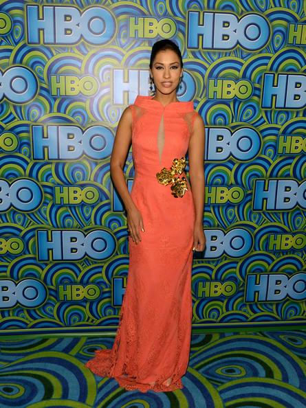 Janina Gavankar HBO Emmys Party 2013 Michael Buckner Getty 5