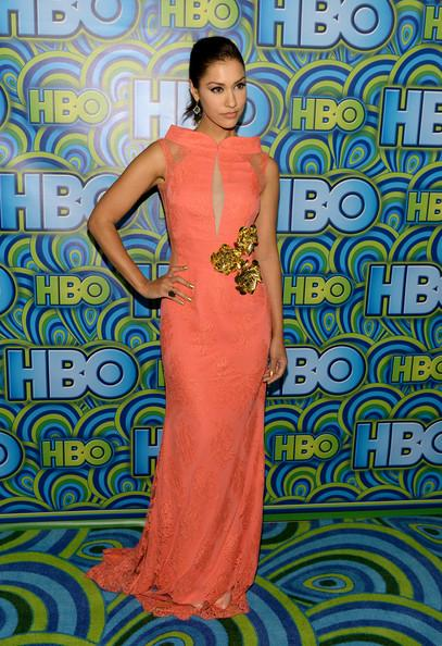 Janina Gavankar HBO Emmys Party 2013 Michael Buckner Getty 4