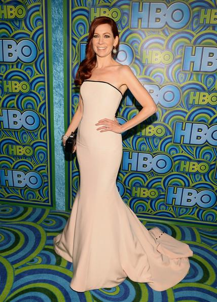 Carrie Preston HBO Emmys Party 2013 Michael Buckner Getty 2'