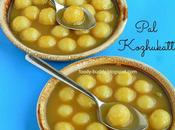 Paal Kozhukattai with Jaggery Coconut Milk Easy Recipe