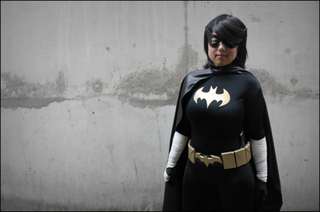 Anna S as Black Bat/Cassandra Cain (photo by Clair Honeybadger)