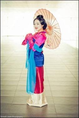 Anna S - Mulan cosplay (photo by Sonesh Joshi Photography)