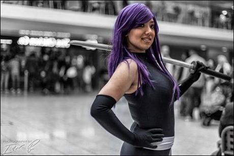 Anna S as Psylocke (photo by Ian Blyth)
