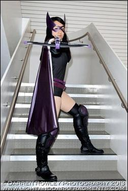 Anna S as The Huntress (photo by Darren Rowley Photography)
