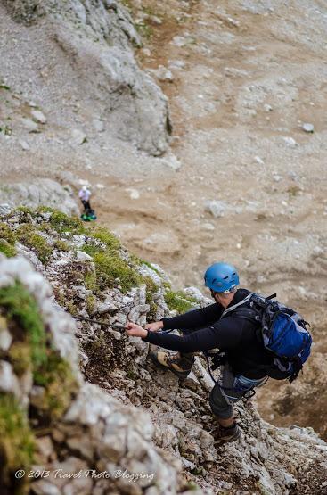 Climbing Košutnikov turn