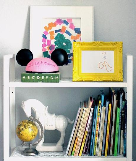 TINY PRINTS Displaying Kids' Art