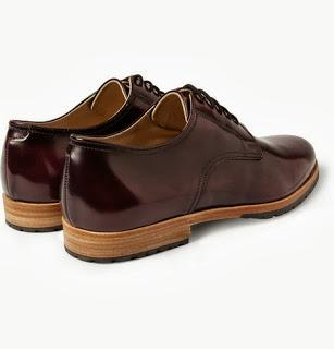 High Time For High Shine:  Armando Cabral Bolama High-Shine Leather Derby Shoe