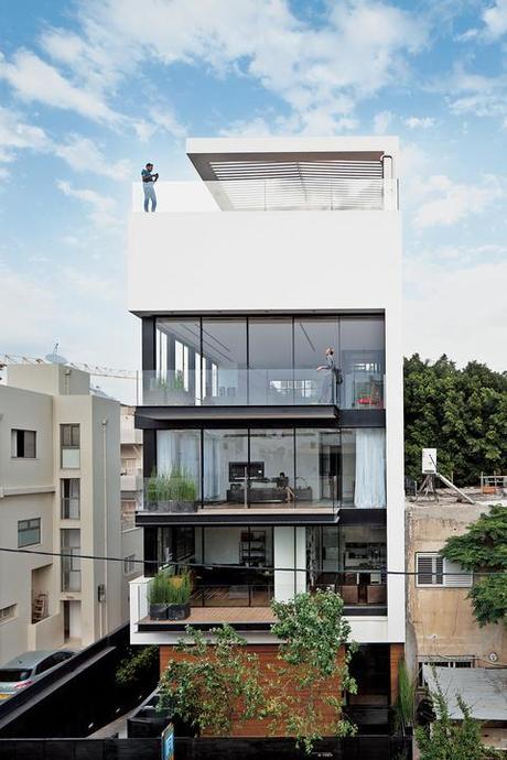 Modern High-Rise Town House in Tel Aviv - Paperblog