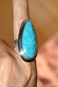 Photo turquoise ring