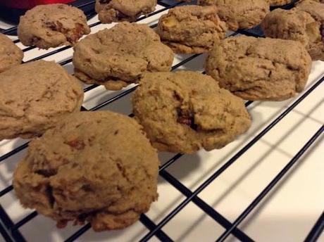 Chocolate Peanut Butter Pretzel Cookies #SundaySupper