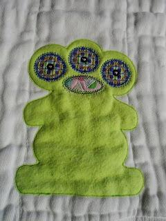 Monster Burp Cloth. Free Shipping Within USA by PersonalFlair